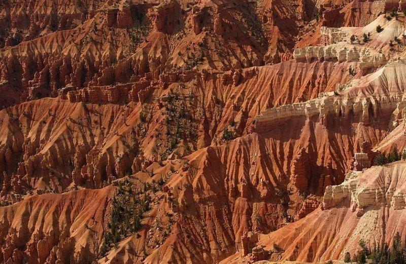 Национальный монумент Сидар-Брейкс, штат Юта америка, вид, высота, мир, пейзаж, природа, фотография