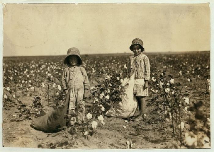 Детский труд на фотографиях начала XX века