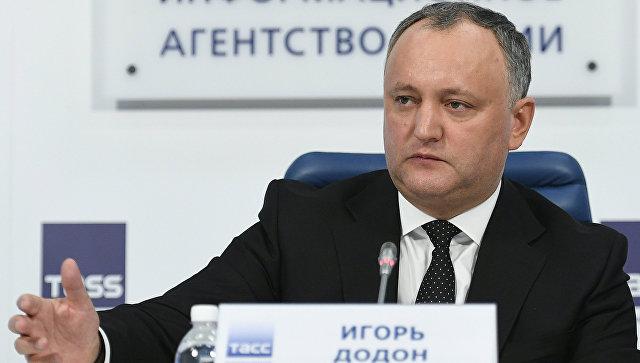 Додон передумал: Молдова отказалась платить «Газпрому» долг за газ