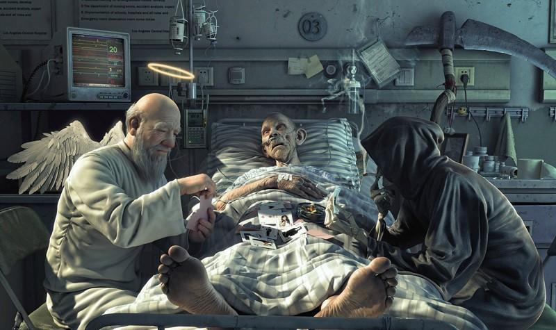 """""""Я - ваша смерть"""". Фельдшер о том, как будет судить медиков Страшный суд"""