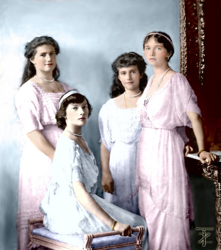 Из воспоминаний о царевнах Ольге, Татьяне, Марии, Анастасии Романовых