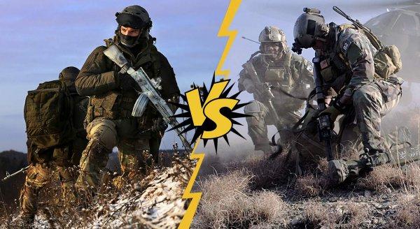 «Битва титанов» спецназа: СС…