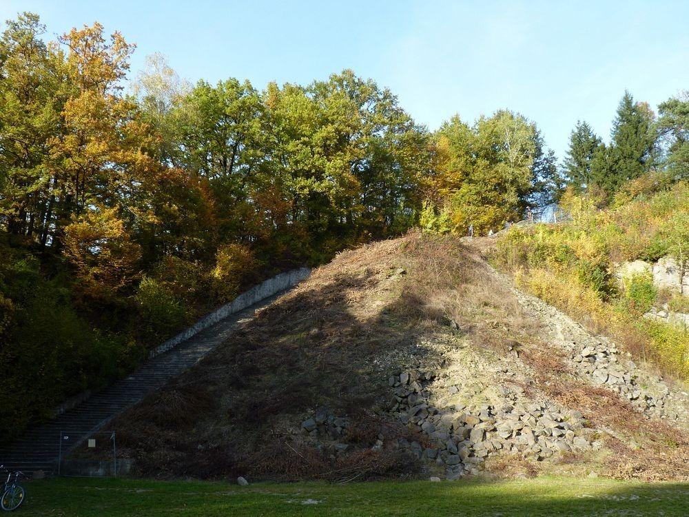 Каменная лестница смерти в Австрии