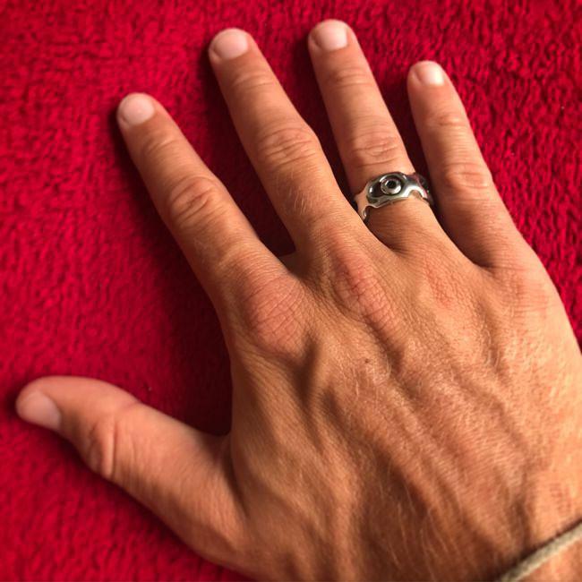 Необычное кольцо на память кольцо, сделай сам