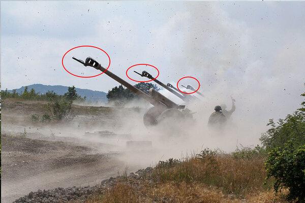 Зачем артиллерийским орудиям штыки
