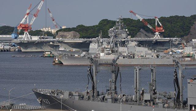 Северокорейцы все-таки попали: Авианосец ВМС США Ronald Reagan не может покинуть Японию из-за поломки