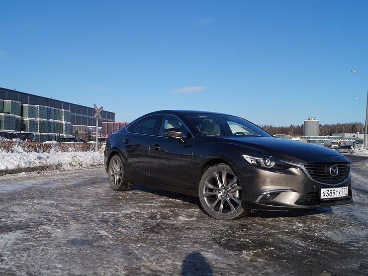 Mazda6: с новым «глазом»!
