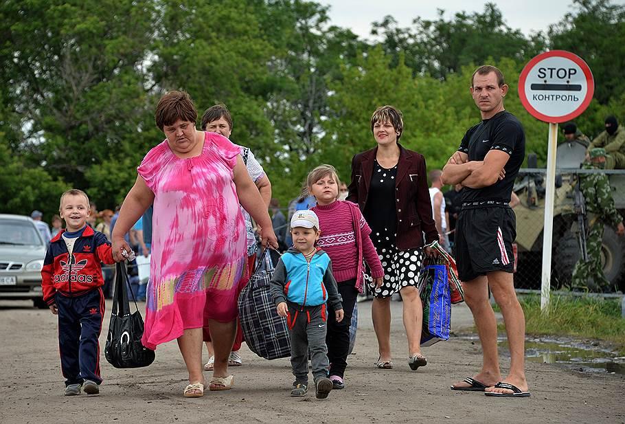 Толпы одичалых беженцев из России будут штурмовать Украину. Ну что, ребята, пошли на штурм?))