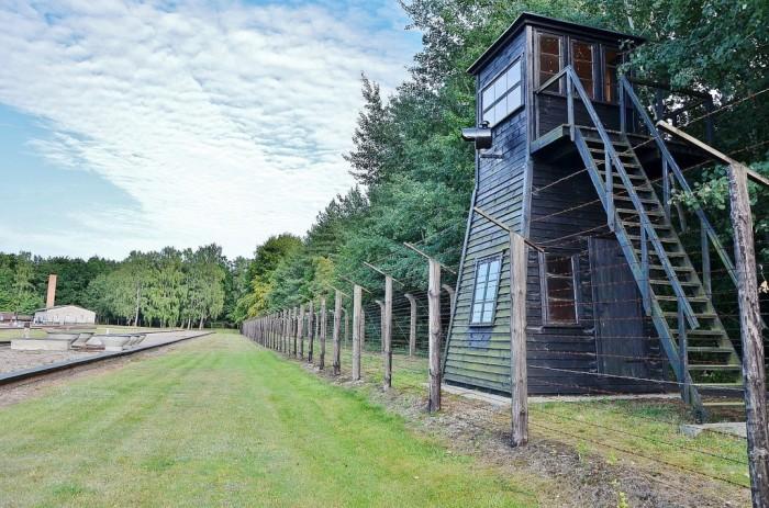 Нацистский концлагерь Штутгоф, где проводили опыты на людях