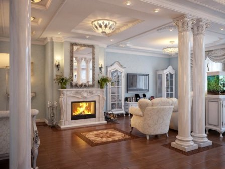 Античный стиль, этно и эклектика в дизайне квартир