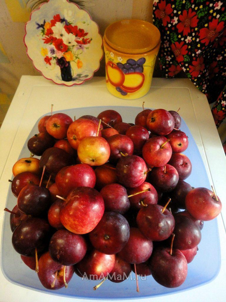 Варенье из китайки (райские яблочки)