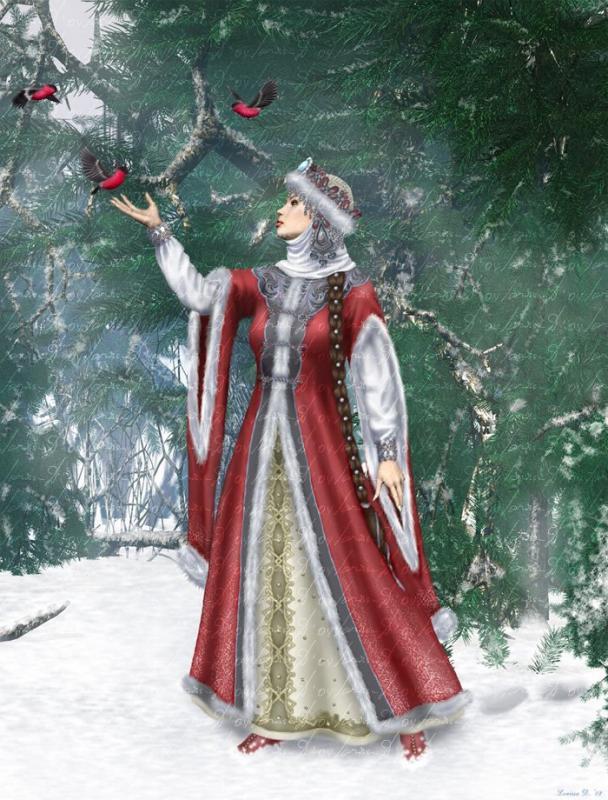 Секс сын с снегурочкой история фото 497-827