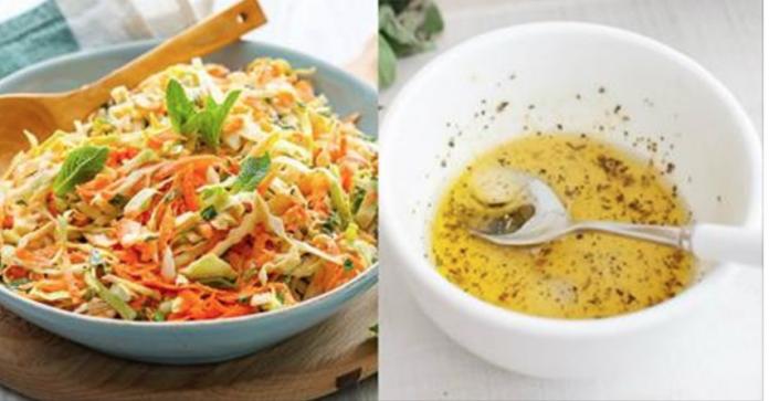 3 великолепные заправки для капустного салата