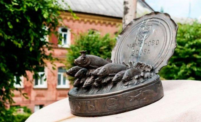 Памятник Шпроты в Калининграде