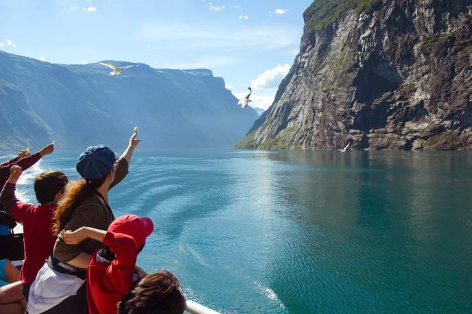 Самые знаменитые фьорды Норвегии