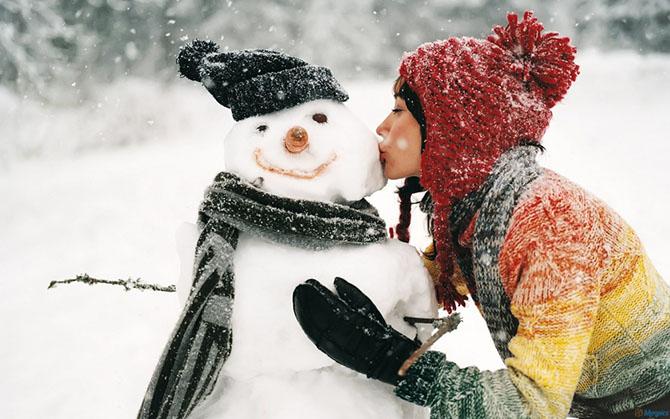 Лучшие идеи для зимней фотосессии