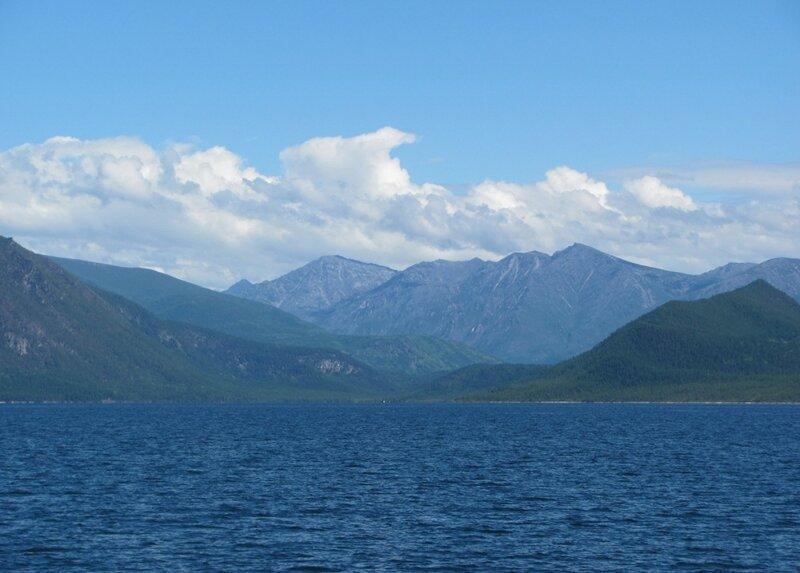 Северный Байкал. Круиз на источники Хакусы (50 фото)