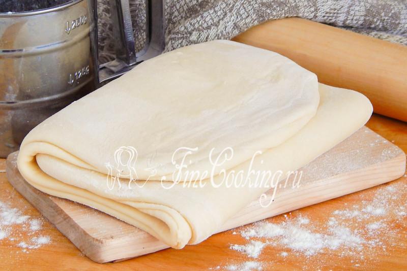 Домашнее слоеное бездрожжевое тесто