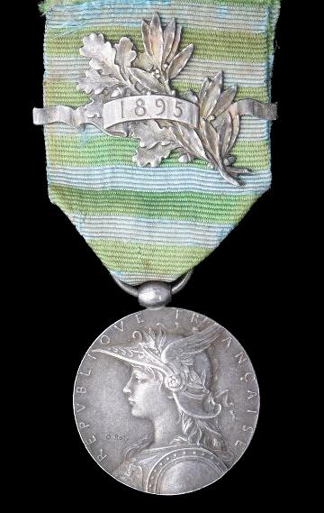 Колониальные медали Франции