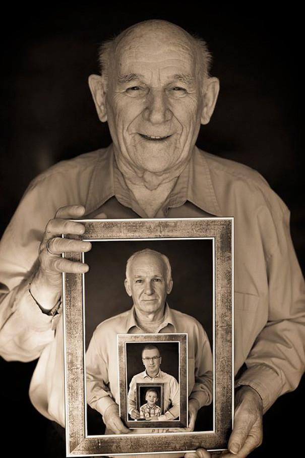 На память потомкам прабабушка, прадедушка, семейный альбом, семья, фото