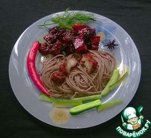 Любимое мясо Мао Дзэдуна Имбирь