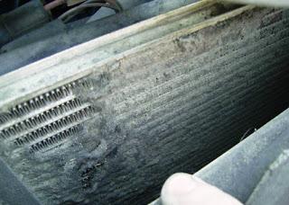 Мойка радиатора системы охлаждения