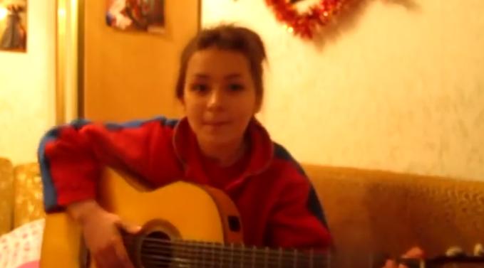 Песня этой девушки тронула меня до самой глубины души