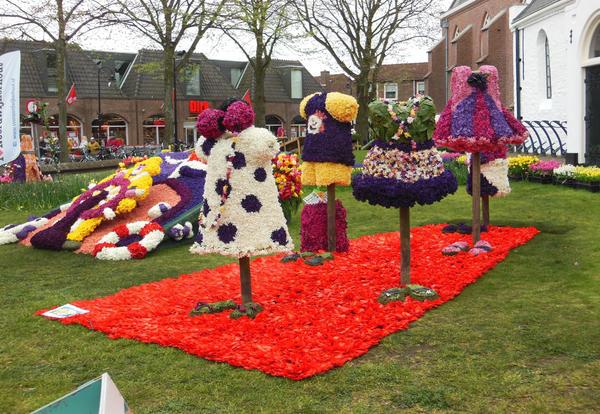 Фестиваль цветочных панно и …
