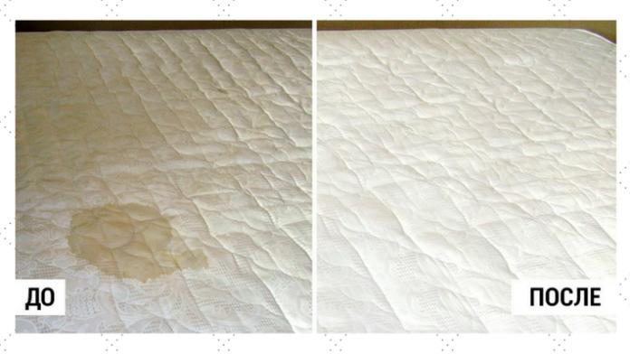 Самый эффективный способ почистить матрас: избавляемся от пятен и запаха