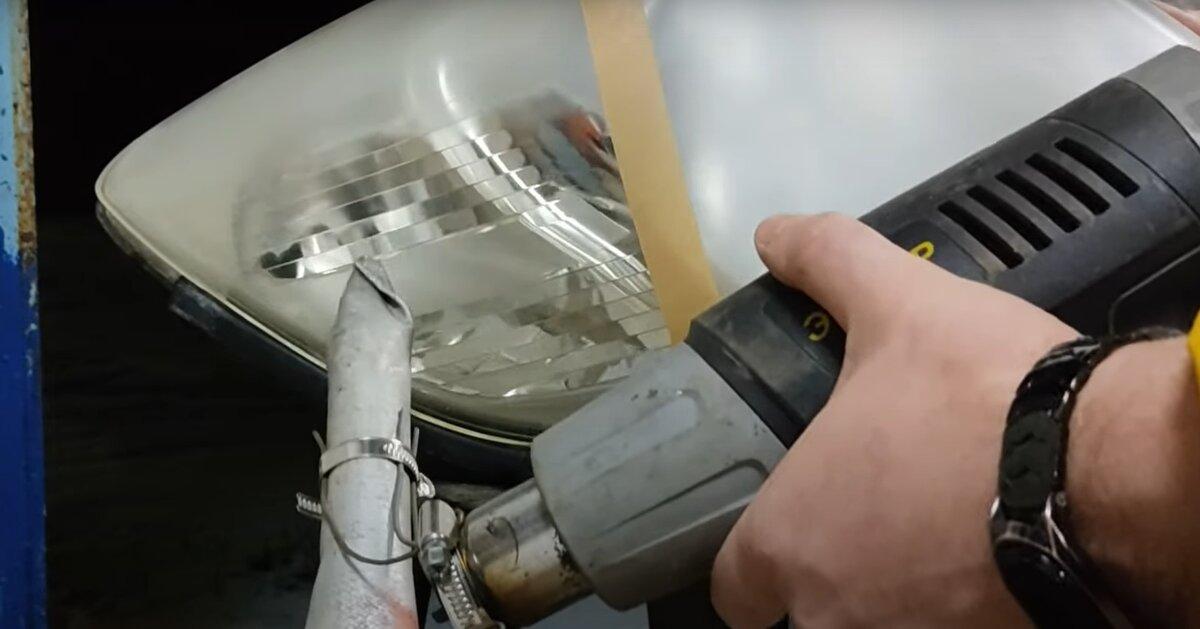 Прибор для химической полировки фар автомобиля своими руками