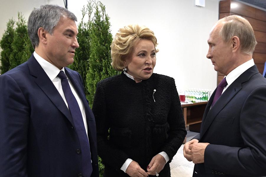 Путин сказал в защиту парламентаризма и в поддержку Конституции