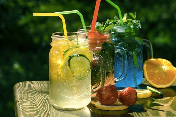 8 освжающих лимонадов собственного приготовления