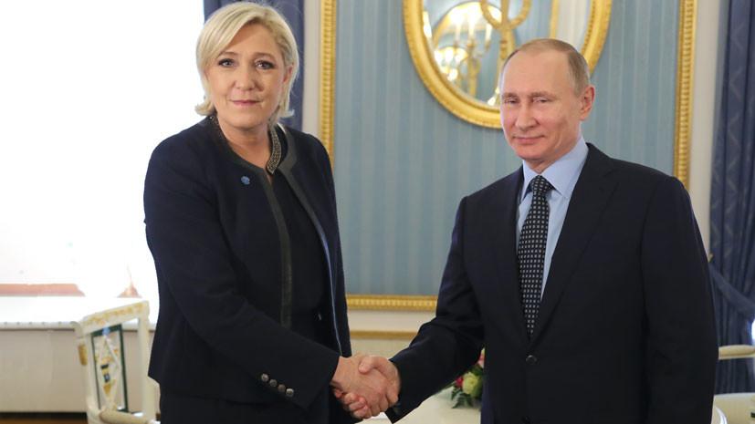 «США нужна война в Европе»: Ле Пен объяснила, зачем Вашингтон намерен вооружить Украину