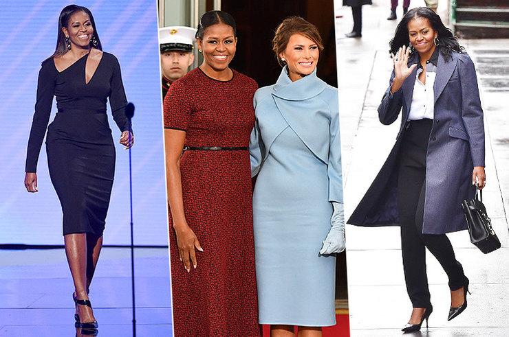 Больше не первая леди: как одевается Мишель Обама в новом статусе