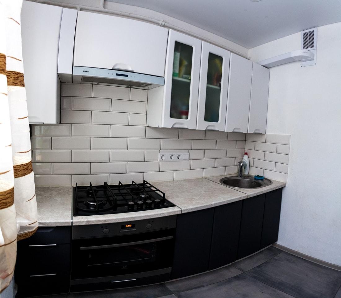 Дешевый ремонт кухни хрущевки своими руками фото
