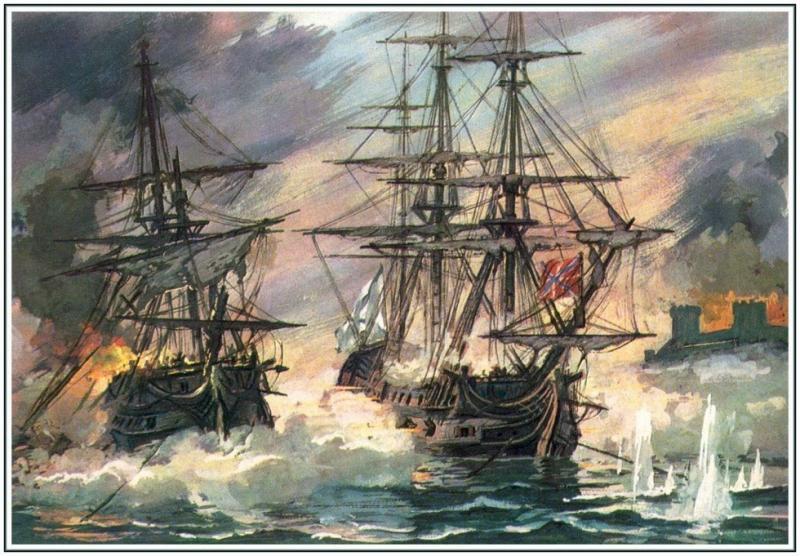 Внешняя политика и пребывание российского военного флота в Средиземном море. 1770 – 1774 гг.