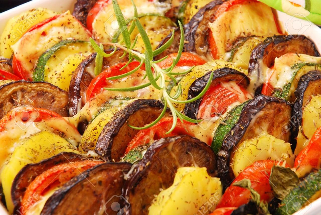 Как запечь овощи в духовке рецепты