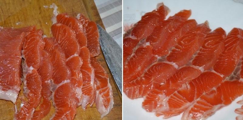 рецепт малосольной красной рыбы