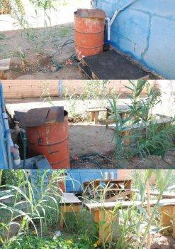 Фильтр воды для сада своими руками