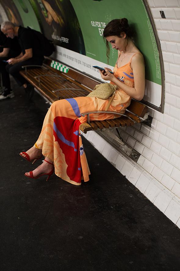 On the Street…The Metro, Paris