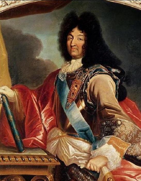 Людовик XIV. Pierre Mignard, ок. 1695 г.