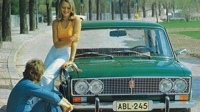 Сексуальные тачки СССР