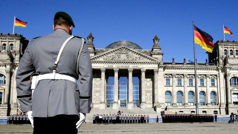 FAZ: Немцам объявили, что в случае войны кормить не будут