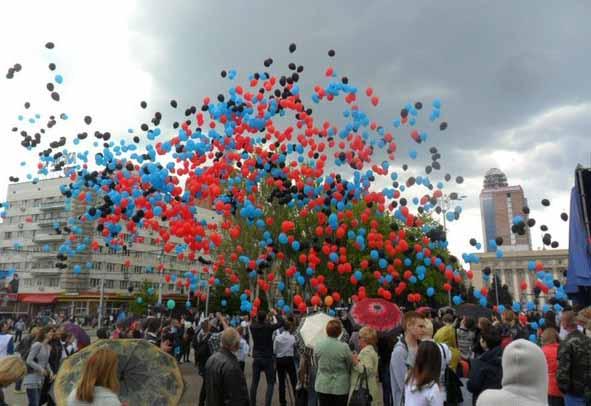 Донецк – в преддверии майских праздников