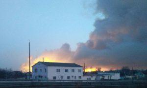 Территорию Балаклеи, где горел склад боеприпасов ВСУ, очистили от взрывоопасных предметов