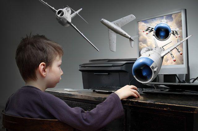 Детям компьютер полезен. Виртуальные игры хорошо влияют на психику детей