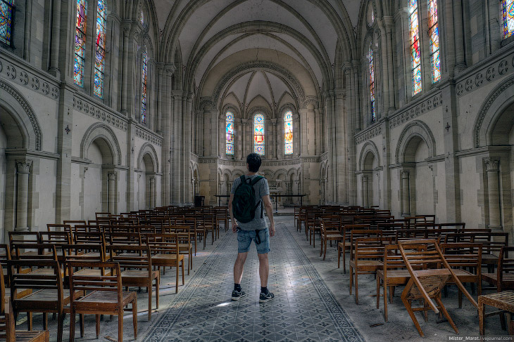 Заброшенные церкви Франции и Бельгии