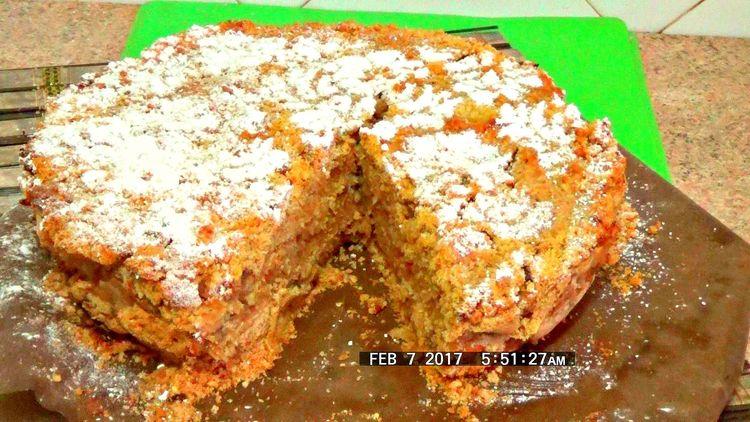Самый быстрый, вкусный и простой яблочный пирог