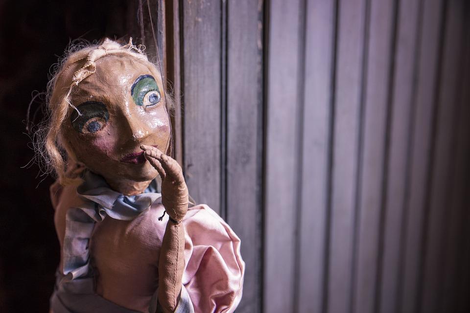 В театре кукол «Теремок» пла…