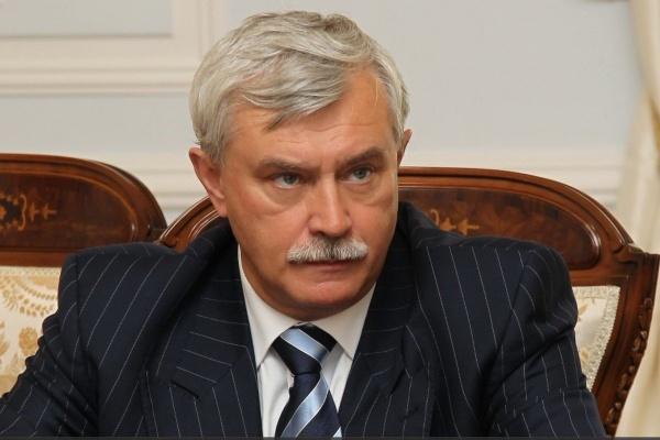 Петербургский губернатор потерял загод миллион рублей